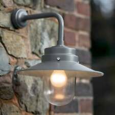 Garden Trading Belfast Outdoor Wall Lamp in Charcoal