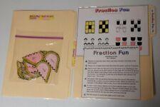 lot of 2 fraction math file folder games for upper elementary students mint
