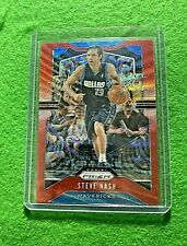 STEVE NASH PRIZM RED WAVE CARD MAVERICKS 2019-20 PANINI PRIZM BASKETBALL REFRACT