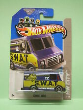 COMBAT MEDIC SWAT RESCUE POLICE HOT WHEELS BLISTER US NEUVE 1/64 3 inches