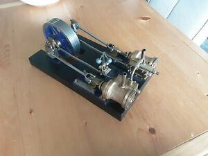 HOTSPUR TWIN Live Steam Horizontal Mill Engine