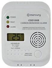 Mercury COD100B Carbon Monoxide Alarm