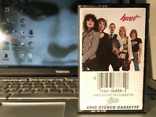 HEART Greatest Hits LIVE Cassette USA 1980  - Vintage Tape Play Tested