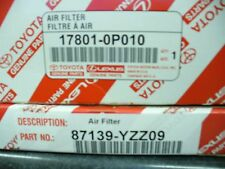 2005-2015 Toyota Tacoma AIR & CABIN Filter Combo 6cyl models only Genuine Toyota