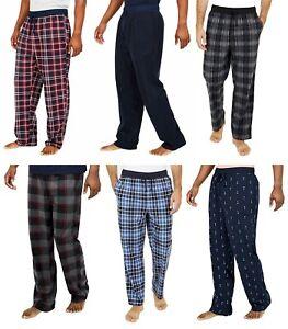 Nautica Sleepwear Mens Fleece Pants Comfort Waistband Choose Size & Color