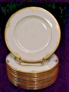 """(SET OF 6) Lenox REPUBLIC Presidential Collection 10 5/8"""" Dinner Plate EXCELLENT"""