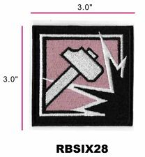 RAINBOW SIX OPERATOR PATCH - SLEDGE - RBSIX28