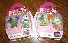 Hello Kitty Mega Bloks Set 10881 & 10882 – Brand New