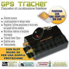 Localizzatore GPS auto moto Antifurto satellitare con telecomando blocco motore