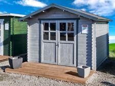 Gartenhaus 28mm 300x300cm 3x3m Gerätehaus Blockhaus inkl. Fußboden ALL IN