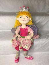 """Die Spiegelburg Prinzessin PRINCESS LILLIFEE Plush Doll Fairy Germany 22"""""""
