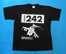 FRONT 242 T-Shirt Größe L FRONTA! Hubschrauber Helicopter EBM FLA VAC Covenant