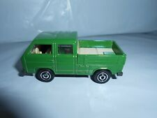 MATCHBOX VW VOLKSWAGEN TRANSPORTER CAB PICK UP T3 MINT ON LONG CARD