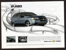 2005 CHEVROLET Uplander Original Print AD - Blue car photo/art french canada
