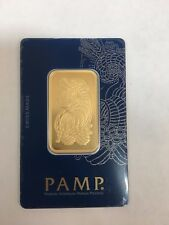 PAMP SUISSE GOLD BAR 1 OUNCE 999.9 FINE GOLD