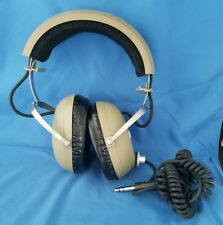READ Vintage 1970s KOSS PRO 4AA Stereo Over the Ear Headphones Tested & Working