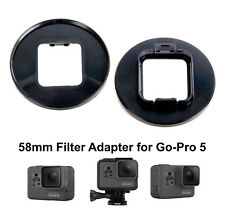 58mm Filter Mount Adapter Holder for GoPro Hero 5 GoPro Camera Go Pro Accessory