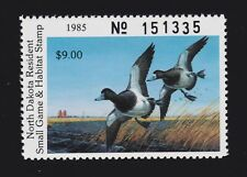 US ND41 $9 North Dakota State Duck Stamp SCV $20