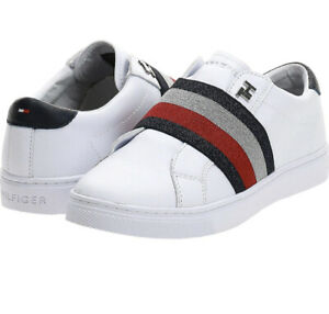 TOMMY HILFIGER - NEW Venus 30a Leather Sneaker/Runners/Size 40/Size 9  FREE POST