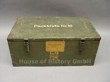 82505, Munitionskiste Wehrmacht, PANZER, 5cm KWK, Mun-Kiste, Patronenhülsen 6317