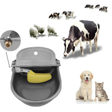 4L Automatic Water Stainless Steel Trough Bowl For Horse Cow Drink Sheep Goat