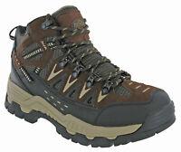 Mens Walking Trekking Boots Northwest Piers Leather Ankle Waterproof Lace Ups