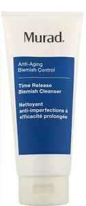 Murad Time Release Acne Cleanser 6.75oz (Blemish ) Sealed no box