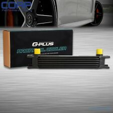 Universal 7 Row AN-10AN Aluminum Engine Transmission Oil Cooler Black