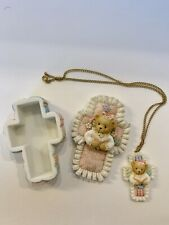 Cherished Teddies Heaven Has Blessed This Day Boy-Girl Inspirational Necklace