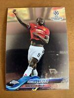 2017-18 Topps Chrome Champions League #16 Romelu Lukaku Manchester United