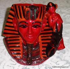 *Ultra Rare* Royal Doulton The Pharaoh D7028 Flambe Toby Character Jug - Gift!