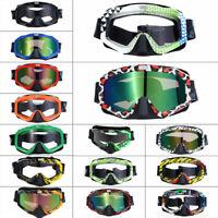 MX Street Bike ATV Glasses Motorcycle Motocross Off-Road Dirtbike Riding Goggles