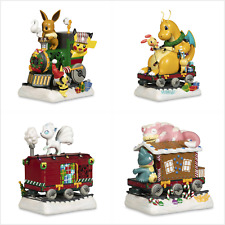 Delibird Holiday Express Train Pokemon Pikachu Eevee Dragonite Munchlax Figure