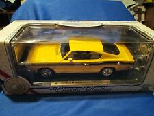 1969 69 BARRACUDA  1/18 diecast HOT ROD  yat ming road signature yellow