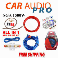 8GA 8 GAUGE AWG POWER WIRE CABLE CAR AUDIO FOR AMPLIFIER AMP AUDIO