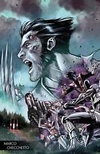 HUNT FOR WOLVERINE 1 MARCO CHECCHETTO YOUNG GUNS VARIANT NM PRE-SALE 25/04