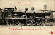 CPA Les Locomotives-Nord (422705)