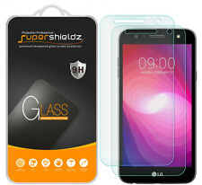 2X Supershieldz LG Fiesta LTE Tempered Glass Screen Protector Saver