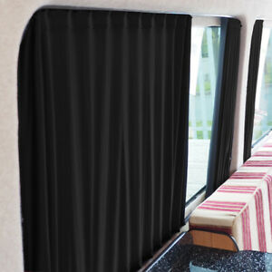 for VW Crafter Premium 2 x Side Window Curtains Van-X