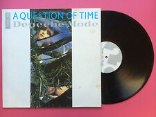 Depeche Mode - A Question Of Time, Plus 3 Live Tracks, Mute Records 12-BONG-12
