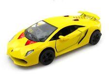 Kinsmart Lamborghini Sesto Elemento 1:38 Scale Die Cast Model Car Yellow