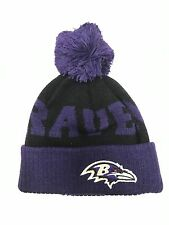 NFL Newborn/Infant/Toddler Baltimore Ravens Team Colors Cuffed Knit