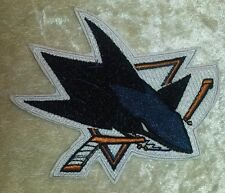 "San Jose Sharks NHL Logo 3.5"" Iron On Embroidered Patch ~USA Seller~"
