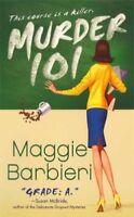 Complete Set Series - Lot of 7 Murder 101 Mysteries by Maggie Barbieri Bergeron