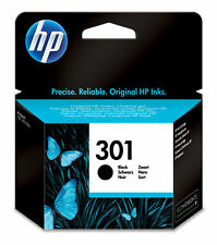 Hp cartucho de tinta original 301 negro reacondicionado