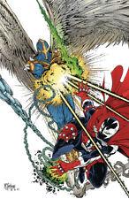 2015 #13 VF//NM Spawn Month Variant Cover Warren Ellis Image Comics Injection