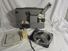Vintage 8mm film projector Sankyo Load Matic for Parts or Repair Needs Belts