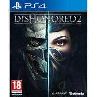 DISHONORED 2 II nuovo per Playstation 4 PS4 italiano