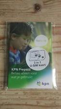 Active: KPN NL 3-in-1 4G Prepaid Sim Netherlands Holland Niederlande Card Karte