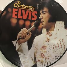 Pictures Of Elvis - Picture Disc Denmark NCB AR 30.001 No Cover Disc Near Mint